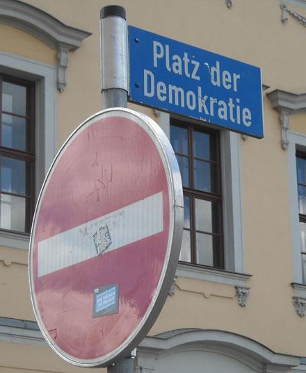 Plötzlich wird die Demokratiewiederentdeckt